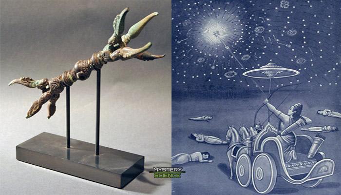 tecnología avanzada usada por los dioses
