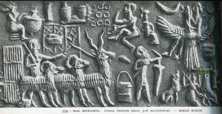 Tablilla del mito de Etana