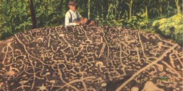 Enigmática roca de más de 10.000 años con símbolos indescifrables