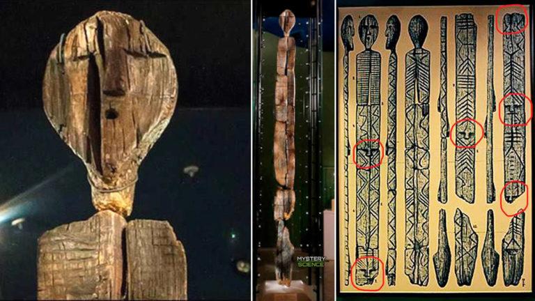 La estatua de madera más antigua del mundo contiene un código indescifrable