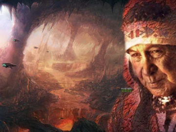 Misteriosa civilización subterránea nombrada en la leyenda de una tribu nativa americana