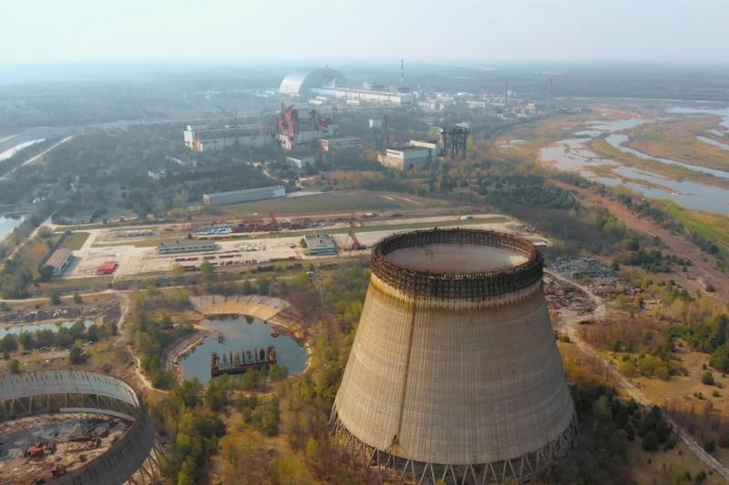 central nuclear de Chernóbil.