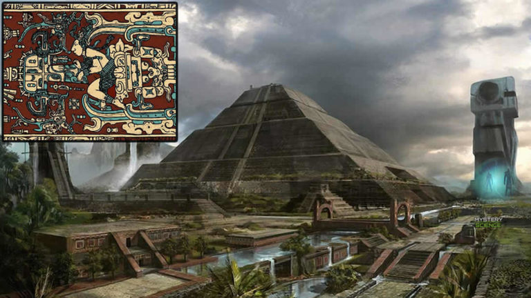 ¿Los mayas tuvieron contacto con seres de otros mundos?