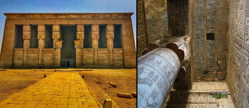 Templo Dendera Hator Egipto