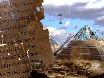 Un texto del 440 a.C. menciona tecnología avanzada usada para construir las pirámides