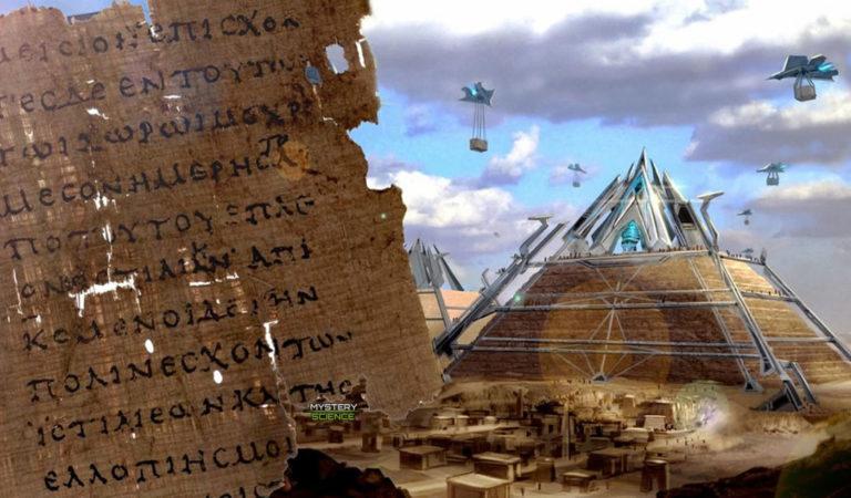 Un texto del 440 a.C. menciona máquinas avanzadas usadas para construir las pirámides de Egipto