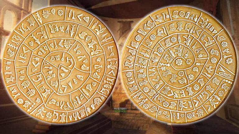 Disco de Festo un enigma de 4000-años de antigüedad