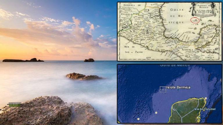 isla que aparece en los mapas, pero no existe
