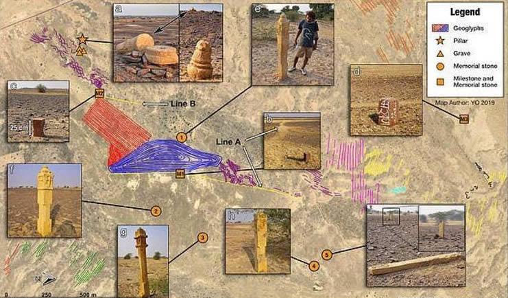 Geoglifos desierto Thar