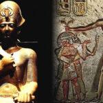 El faraón gigante del antiguo Egipto