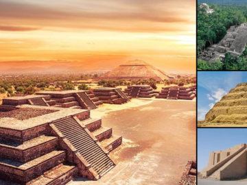 Pirámides escalonadas: construcciones similares halladas en todo el mundo
