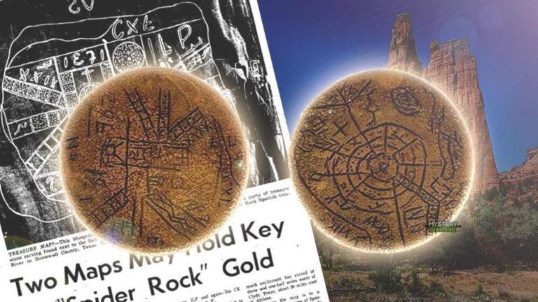 Antiguos mapas de piedra con signos misteriosos aun no descifrados