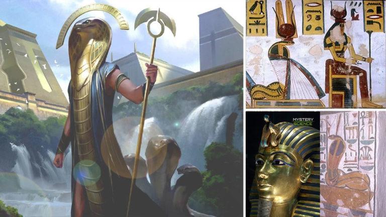 La poderosa diosa reptiliana que protegía a los faraones