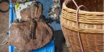 Hallan cestas de frutas de más de 2.200 años entre ruinas de una ciudad egipcia sumergida