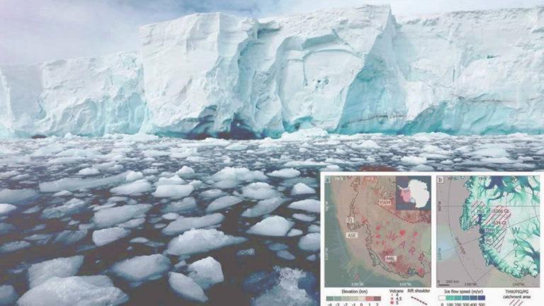 «Glaciar del Juicio Final» se está derritiendo más rápido por el calor del interior de la Tierra