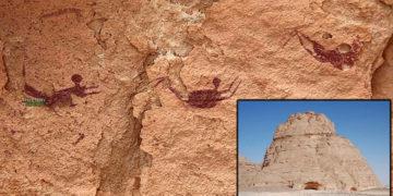 La fascinante 'Cueva de los Nadadores' hallada en el desierto del Sahara