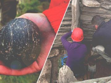 Hallan misteriosas esferas de piedra talladas, en una tumba de 5.500 años