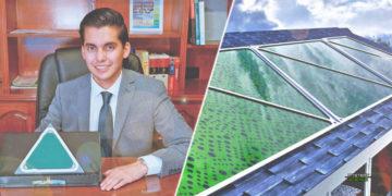 Inventor mexicano crea paneles solares que producen energía y limpian el aire al mismo tiempo