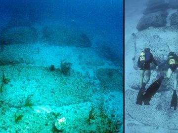 Misteriosa estructura subacuática de 800 metros se asemeja a un camino